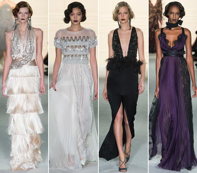 Marchesa Fall/Winter 2015-2016 Collection - New York Fashion Week
