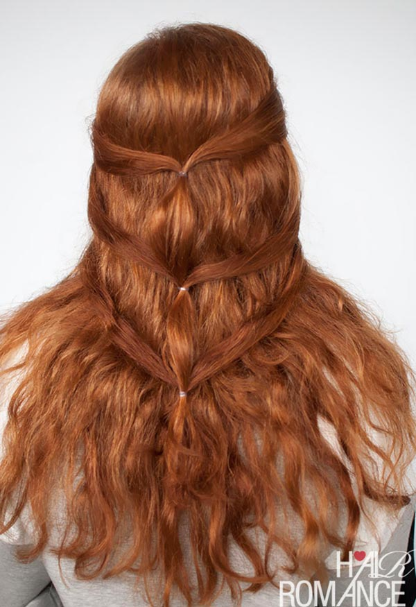 Romantic Hairstyle Tutorials for Valentine's Day: Game of Thrones Hair