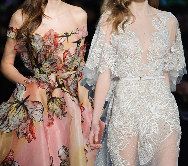 Spring 2015 Floral Couture Trend: Elie Saab