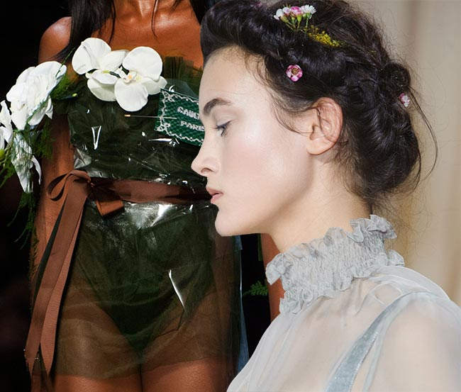 Spring 2015 Floral Couture Trend: Gaultier - Valentino