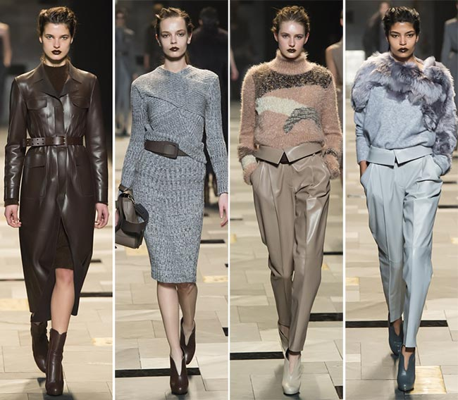 Trussardi Fall/Winter 2015-2016 Collection - Milan Fashion Week