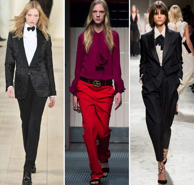 Fall/ Winter 2015-2016 Fashion Trends: Masculine Fashion