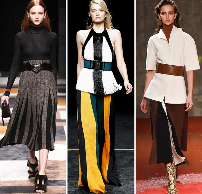 Fall/ Winter 2015-2016 Fashion Trends: Oversized Belts
