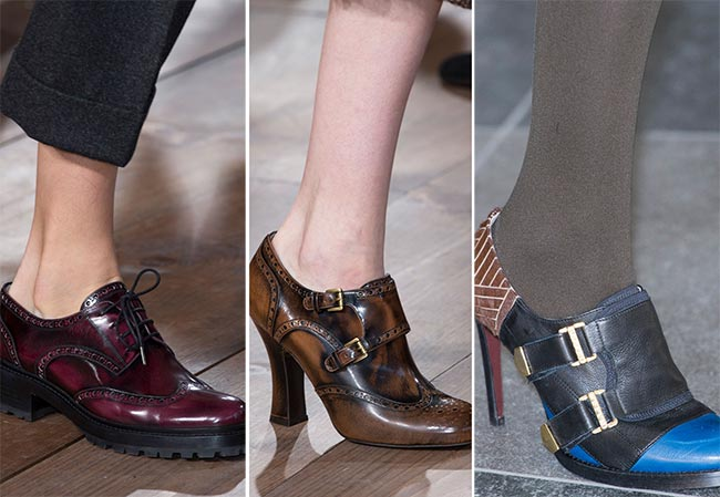 Fall/ Winter 2015-2016 Shoe Trends: Oxford Shoes