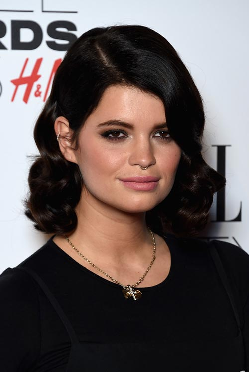 Short Hairstyle Ideas: Pixie Geldof Short Curly Hair