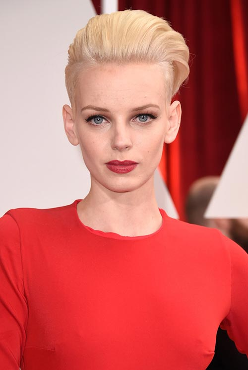 Short Hairstyle Ideas: Dorith Mous Fauxhawk