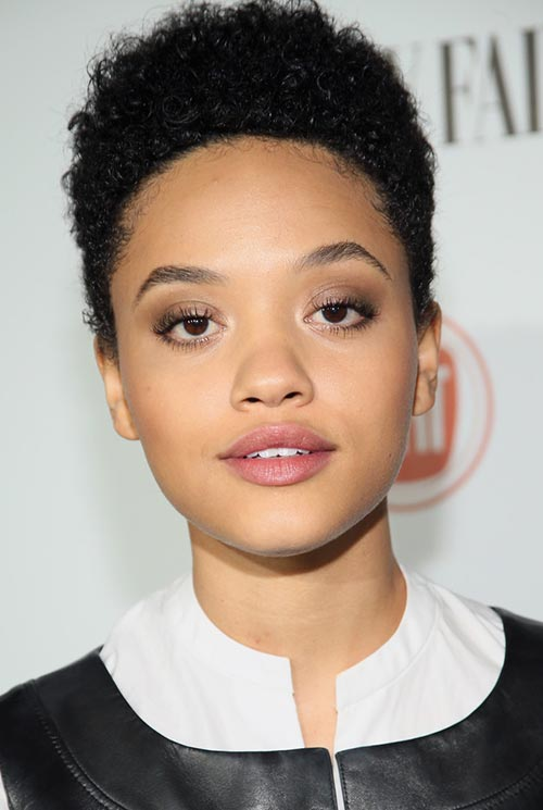 Short Hairstyle Ideas: Kiersey Clemons Hightop Hair