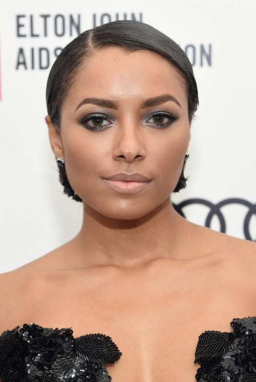 Short Hairstyle Ideas: Kat Graham Sleek Bob