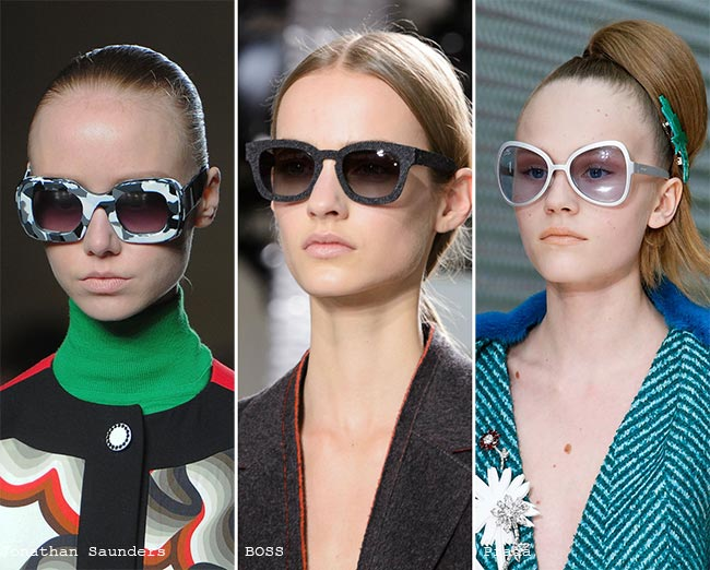 Fall/ Winter 2015-2016 Eyewear Trends: Sunglasses With Grey Frames