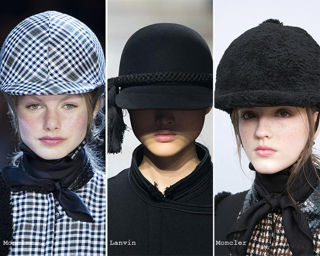 Fall/ Winter 2015-2016 Headwear Trends: Helmets and Caps