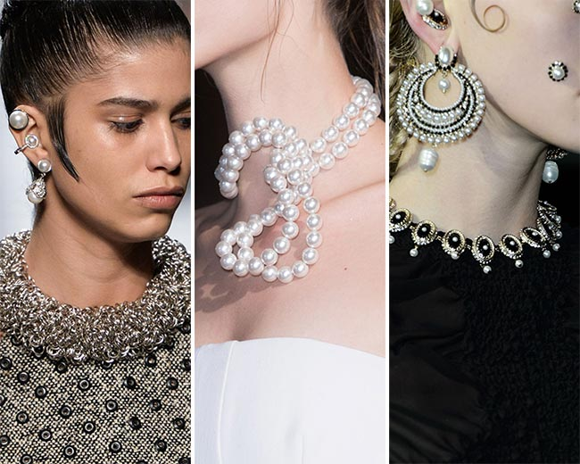 Fall/ Winter 2015-2016 Jewelry Trends: Pearls