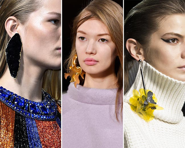 Fall/ Winter 2015-2016 Jewelry Trends: Single Earrings