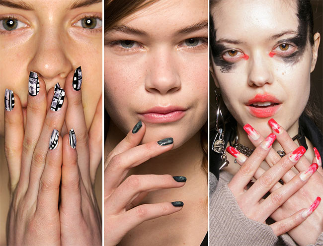 Fall/ Winter 2015-2016 Nail Trends: Artistic Splatter Nail Art