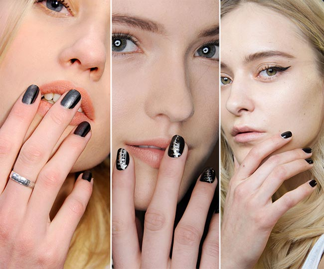 Fall/ Winter 2015-2016 Nail Trends: Dark Nails
