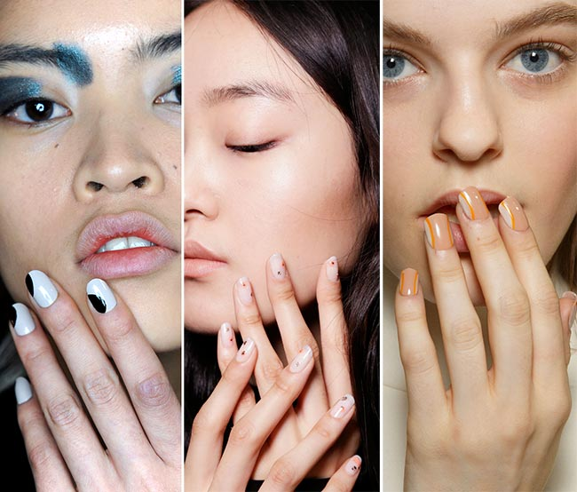 Fall/ Winter 2015-2016 Nail Trends: Minimal Nail Art