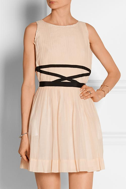 Summer 2015 Nude Wedding Guest Dresses: Band Of Outsiders