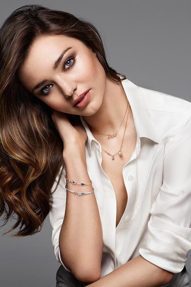 Miranda Kerr Creates a Capsule Collection for Swarovski