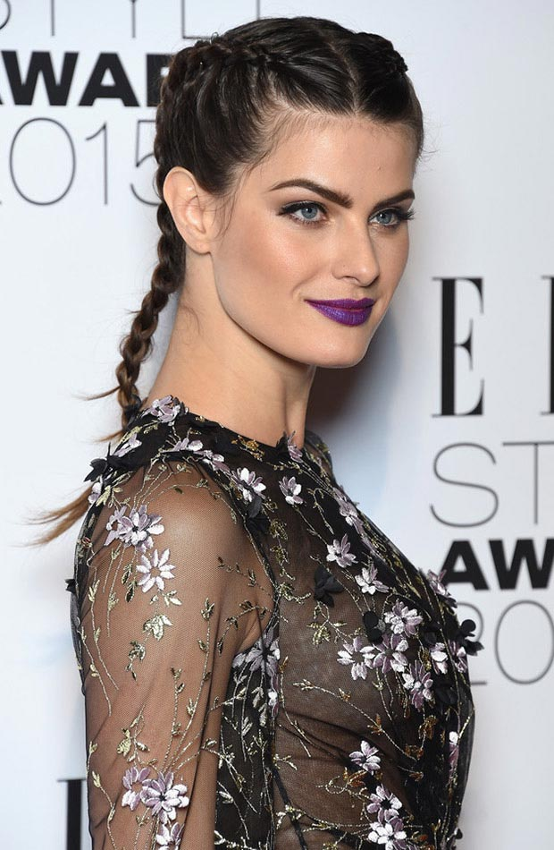 wedding guest hairstyles for summer, Isabeli Fontana