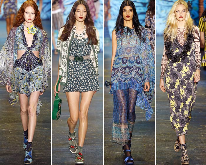 Anna Sui Spring/Summer 2016 Collection