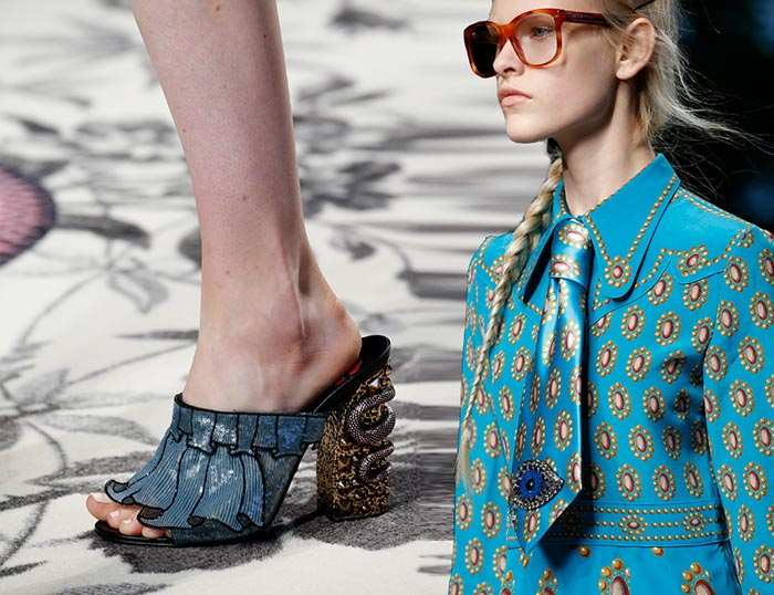 6c30a69adca8 Gucci Spring 2016 Accessories: Shoes