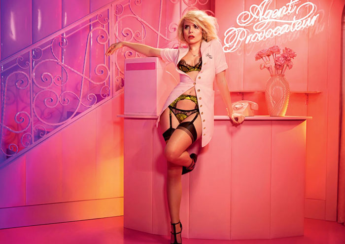 Paloma Faith for Agent Provocateur's Fall 2015 Ad Campaign