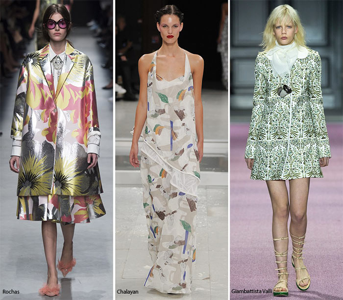 Spring/ Summer 2016 Print Trends: Hawaiian Patterns