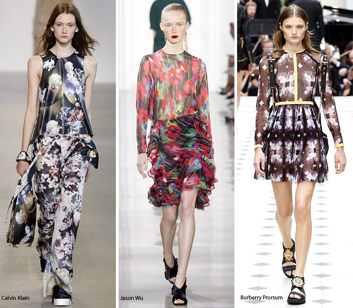 Spring/ Summer 2016 Print Trends: Abstract Floral Patterns