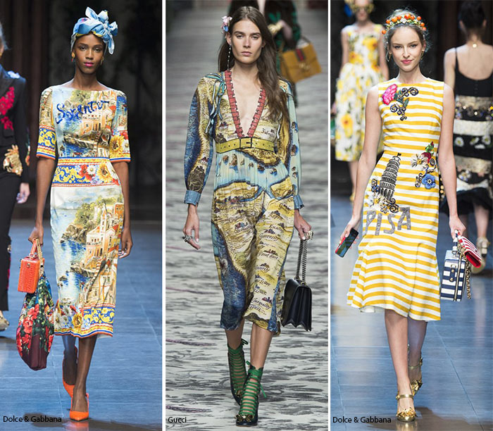 Spring/ Summer 2016 Print Trends: Geography Patterns