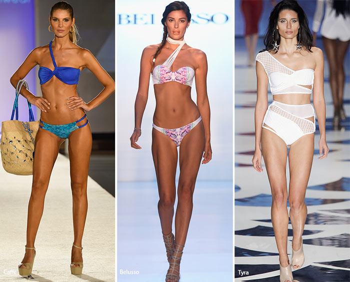 Spring/ Summer 2016 Swimwear Trends: One-Shoulder Bikini Tops
