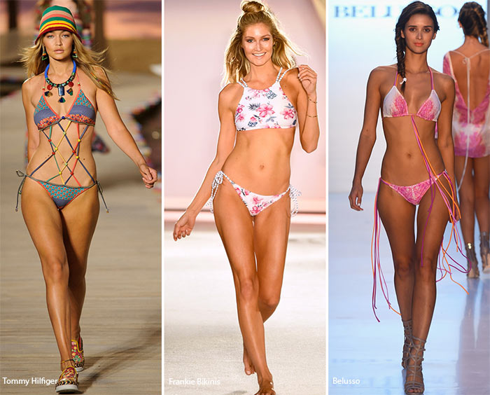 Spring/ Summer 2016 Swimwear Trends: String Bikinis