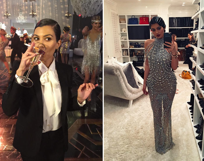 Kris Jenner's Great Gatsby Themed Birthday