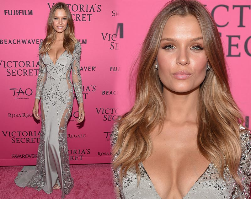 Victoria's Secret Fashion Show 2015 Pink Carpet: Josephine Skriver