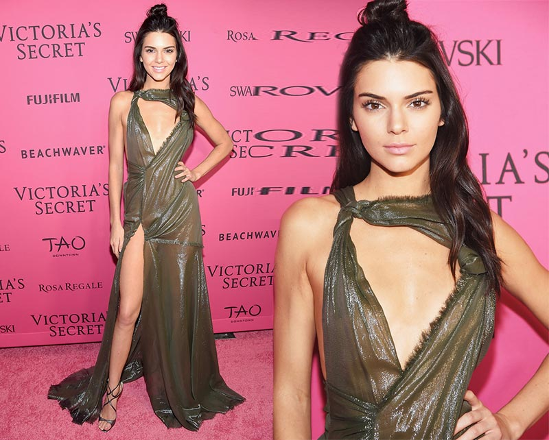 Victoria's Secret Fashion Show 2015 Pink Carpet: Kendall Jenner