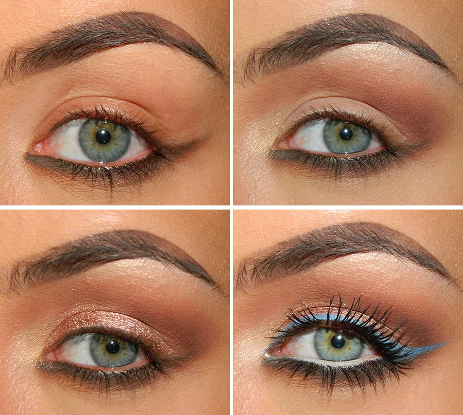 Metallic Eye Makeup Tutorial for Fall