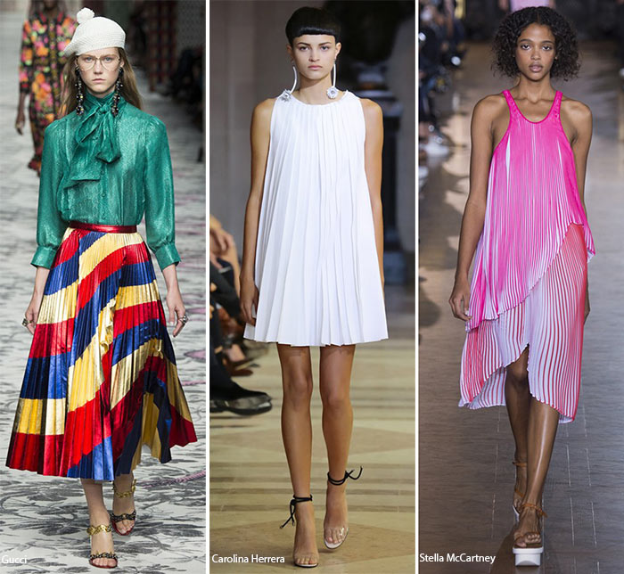 Spring/ Summer 2016 Fashion Trends: Pleats