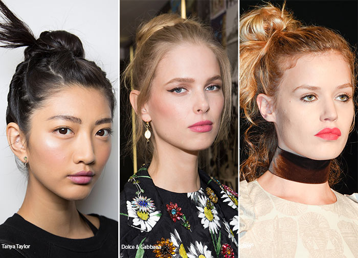 Spring/ Summer 2016 Hairstyle Trends: Messy Buns