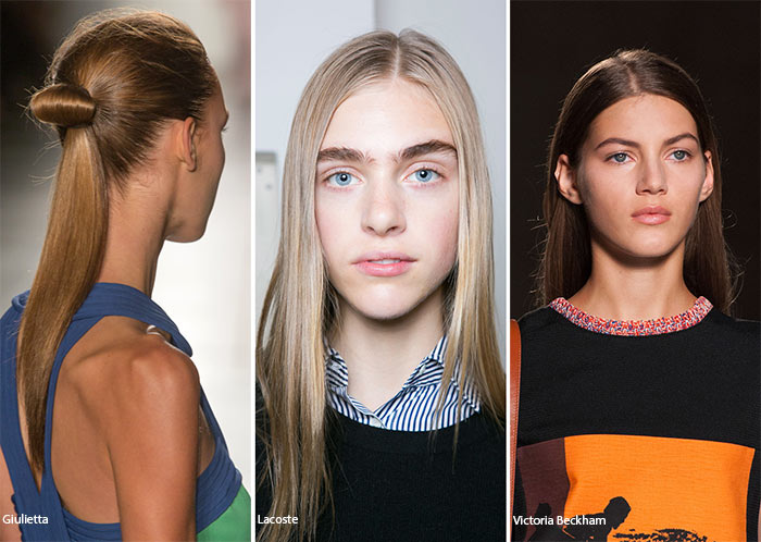 Spring/ Summer 2016 Hairstyle Trends: Straight Hairstyles