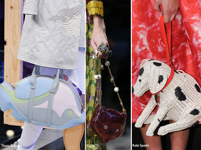 Spring/ Summer 2016 Handbag Trends: Animal Shaped Bags
