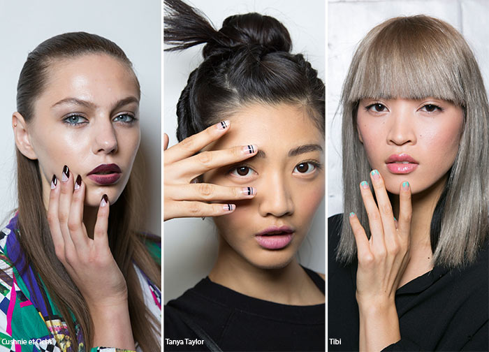 Spring/ Summer 2016 Nail Trends: Negative Space Nail Art