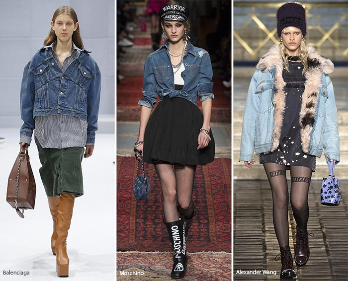 Fall 2016 Denim Fashion Trend