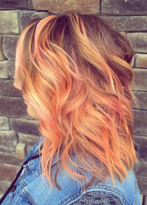 65 Rose Gold Hair Color Ideas For 2017 Rose Gold Hair