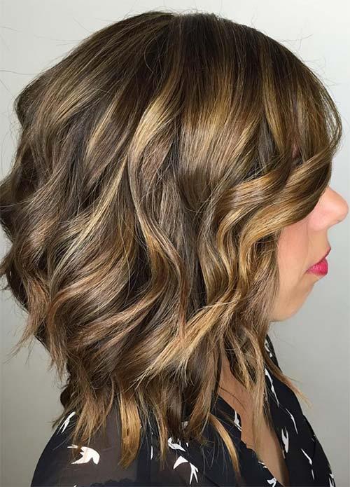 Dark Brown Hair Light Brown Highlights Tumblr