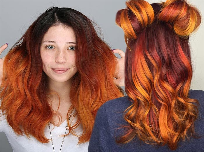 Copper Hair Color Shades to Swoon Over