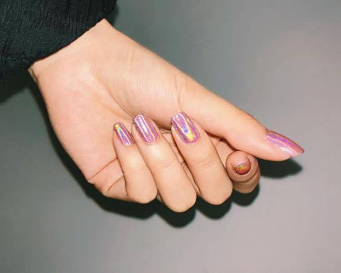 Best Summer Nail Designs For 2017 Holographic Nails