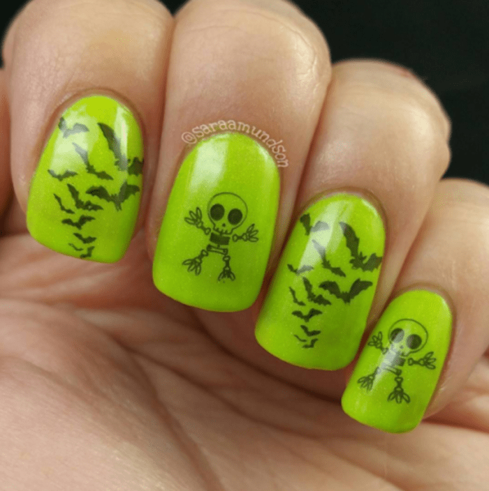 Halloween Nail Ideas graphic Halloween Nails