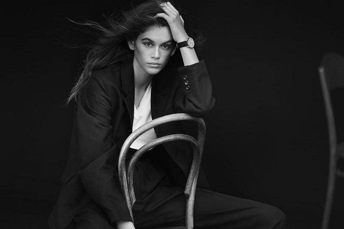 Kaia Gerber Fronts Omega's New Campaing Tresor watch
