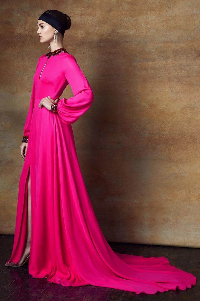 Sachin & Babi Pre-Fall 2018 Collection magenta dress