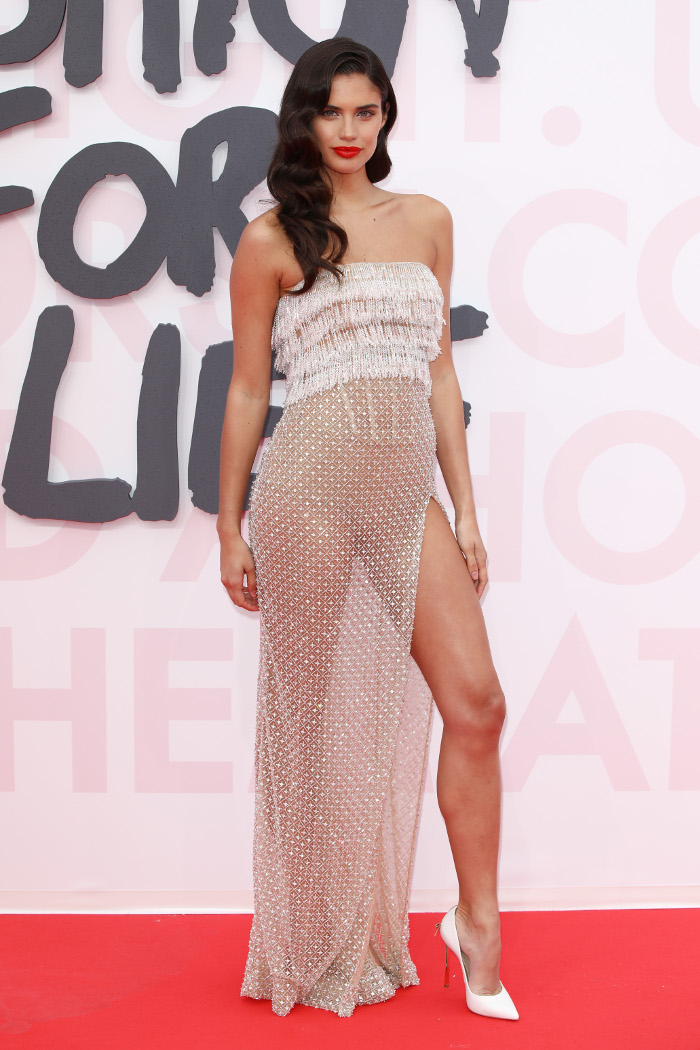 The Most Naked Dresses on the Cannes Red Carpet Sara Sampaio