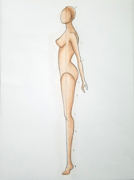 Make Your Own Fashion Figure Templates   Fashionista Sketch When