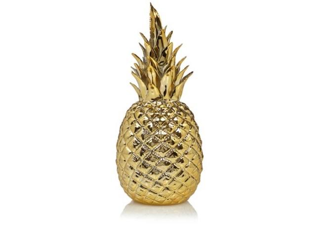 Fashion trends 2015: Ananas print. Alles over de ananas als een van de fashion trends 2015. De ananas / pineapple is helemaal hot: jurken, interieur, schoenen en meer.
